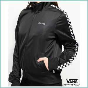 Vans Off the Wall Black & White Checkered Jacket